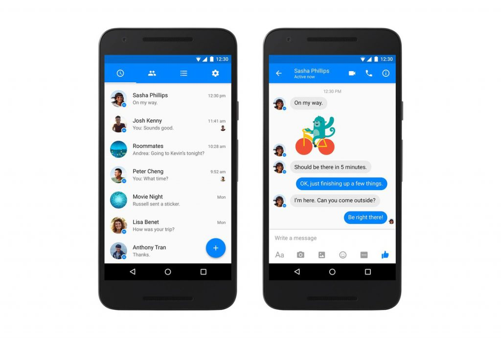 How to Know whether your send message through Facebook messenger is read or seen by receiver?