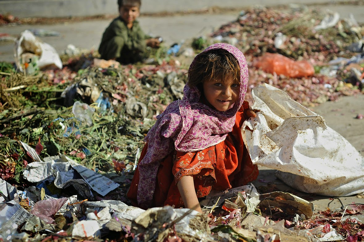 street children Islamabad --AFP